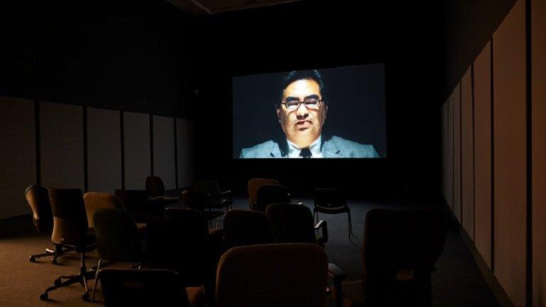 Exhibition view Gabriel Acevedo. Paranormal Citizen, 2013