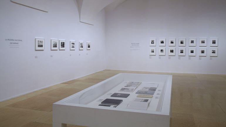 Vista de la sala de la exposición. Robert Adams: el lugar donde vivimos, 2013