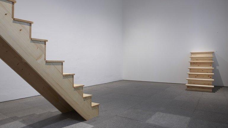 Exhibition view. Matthew Buckingham. Time Proxies, 2009