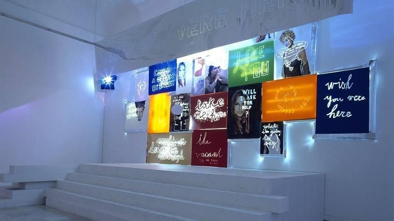 Exhibition view. Danielle Buetti. Could a dream be enough, 1999