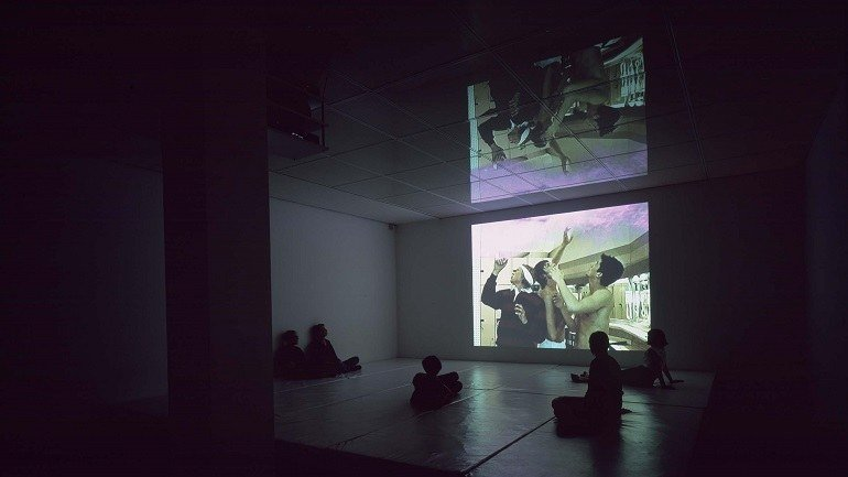 Carles Congost. Popcorn Love, 2001. Instalación. Colección Museo Nacional Centro de Arte Reina Sofía, Madrid
