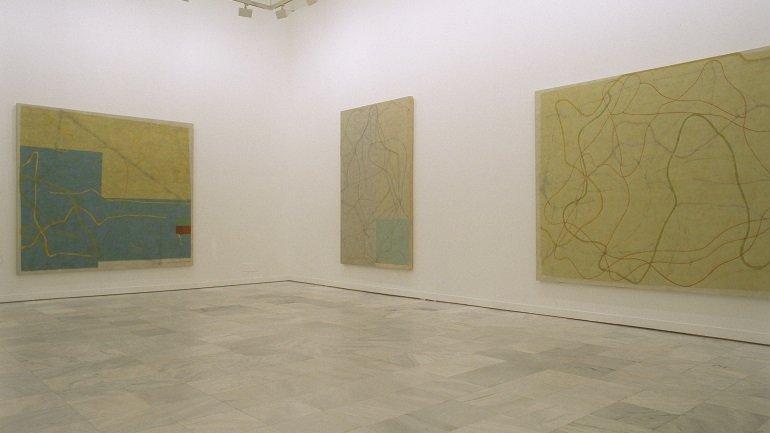 Exhibition view. Alejandro Corujeira. La tarea del paisaje, 2002