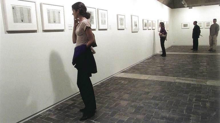 Exhibition view. Cristino de Vera en Silos, 2002