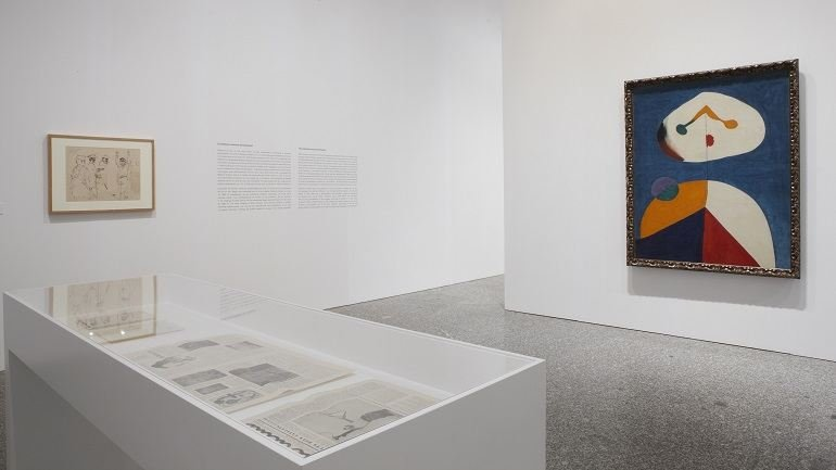 Exhibition view. The Invention of the 20th Century. Carl Einstein and the Avant-garde, 2008