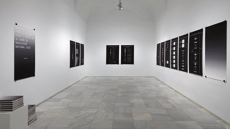 Vista de sala de la exposición Erlea Maneros Zabala, 2016