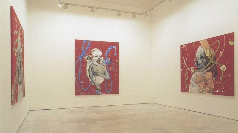 Exhibition view. Jorge Galindo. Pintura animal, 1999