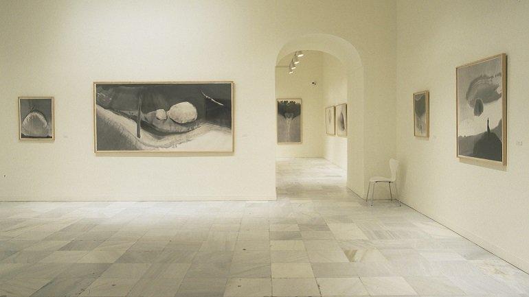 Vista de sala de la exposición. Gao Xingjiang, 2002