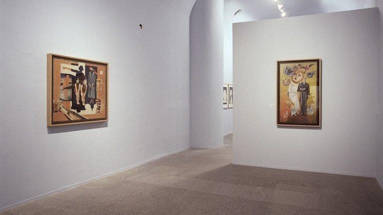 Exhibition view. Hannah Höch, 2004