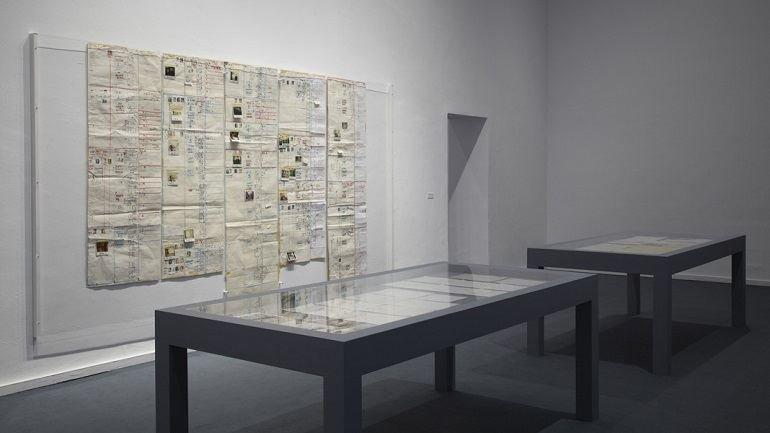 Vista de sala de la exposición. James Coleman, 2012