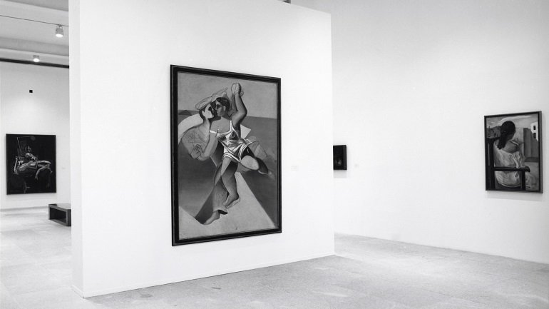 Exhibition view. Dalí joven. 1918-1930, 1994
