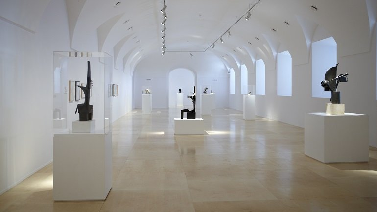 Exhibition view. Julio González, 2009