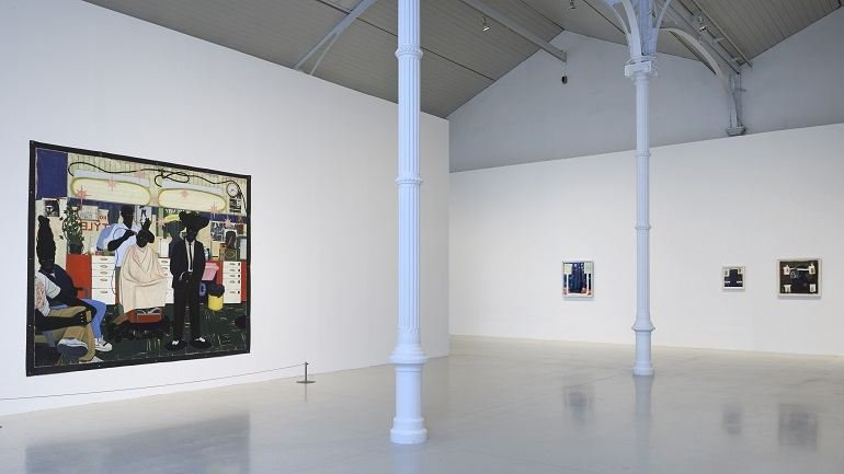 Exhibition view Kerry James Marshall: painting and other stuff, 2014