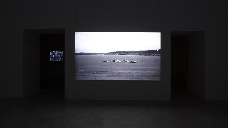Exhibition view. David Maljkovic: Out of Projection, 2009