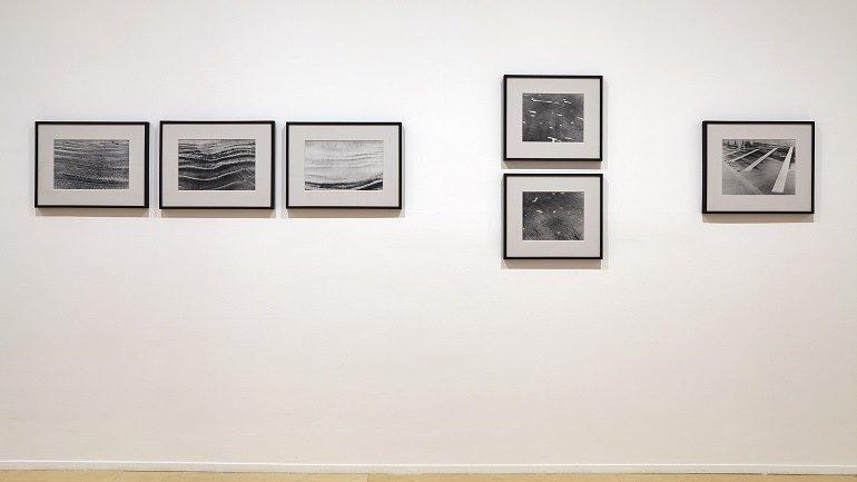 Exhibition view. Nasreen Mohamedi, 2015