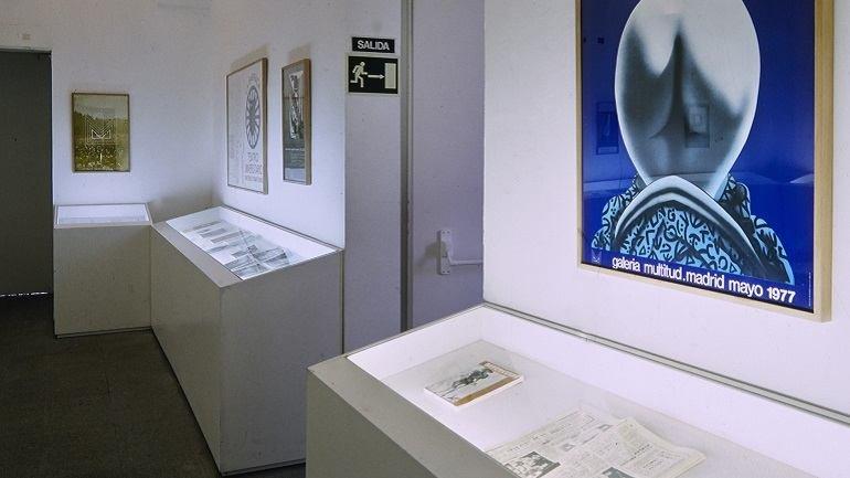 Exhibition view. Galería Multitud, 1995