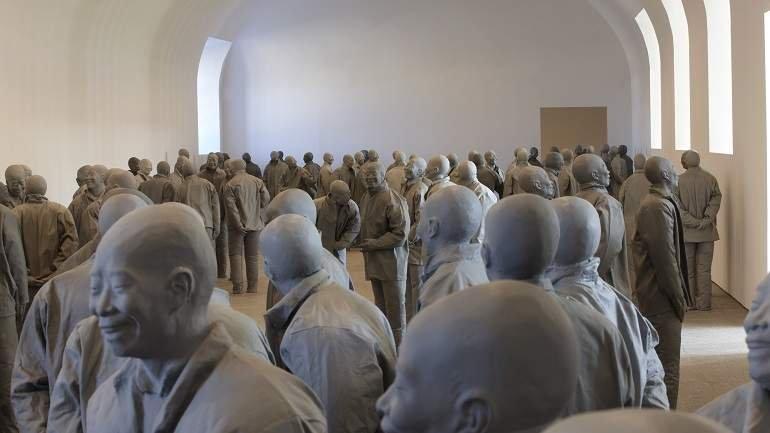 Exhibition view. Juan Muñoz. Retrospective, 2009