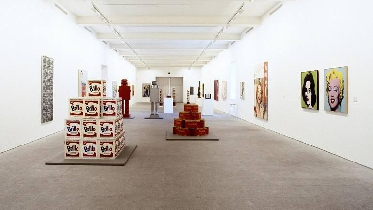 Vista de sala de la exposición. Arte Pop, 1992