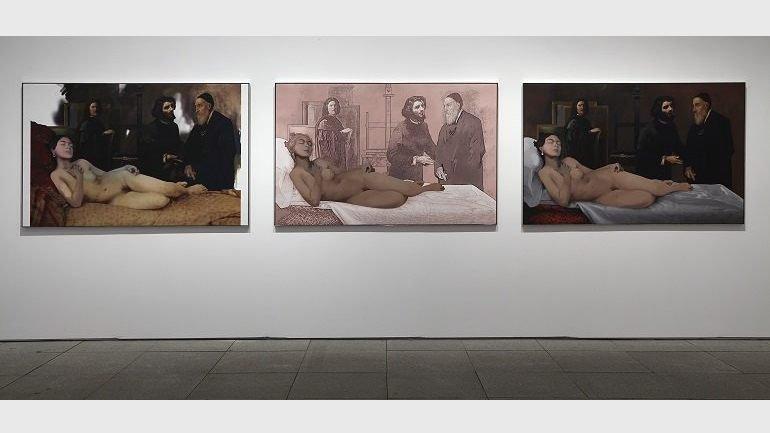 Exhibition view Richard Hamilton, 2014