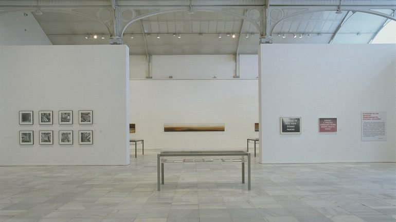 Exhibition view. Edward Ruscha. Made in Los Angeles, 2002