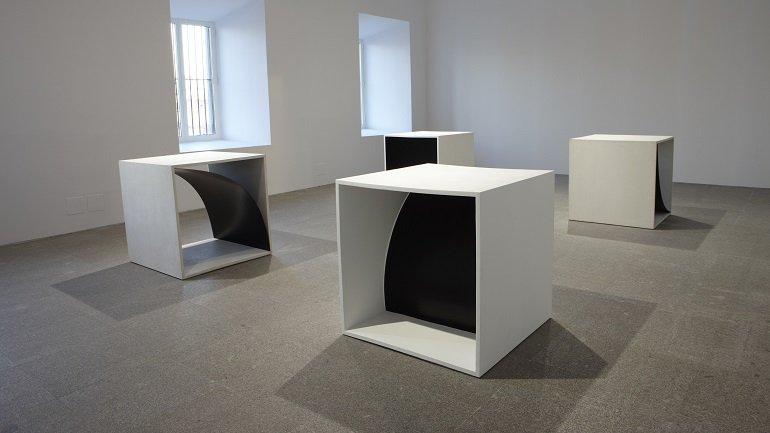 Vista de sala de la exposición. Francesco Lo Savio, 2009