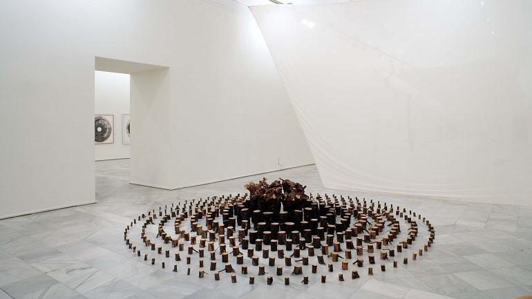 Vista de sala de la exposición. Adolfo Schlosser. 1939-2004, 2006