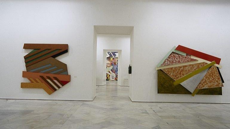Exhibition view. Frank Stella, 1995