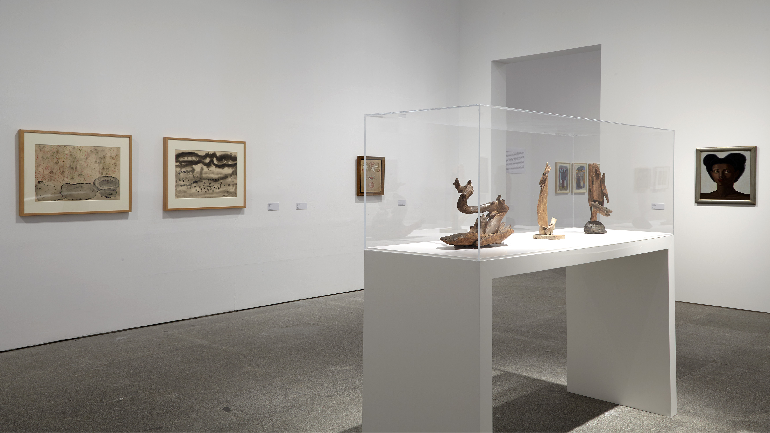 Exhibition view.  Campo Cerrado. Spanish Art 1939–1953