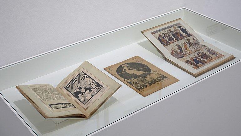 Vistas de la exposición Pessoa. Todo arte es una forma de literatura
