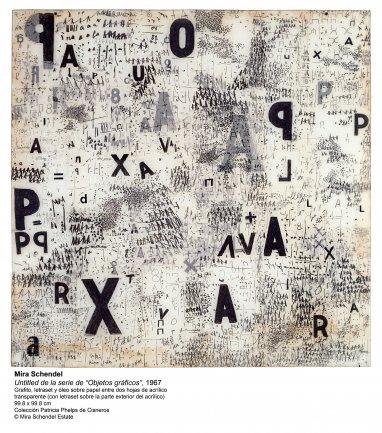 León Ferrari y Mira Schendel:  El alfabeto enfurecido