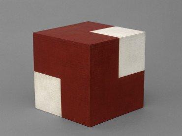 Willys de Castro. Objeto ativo (cubo vermelho/branco), 1962