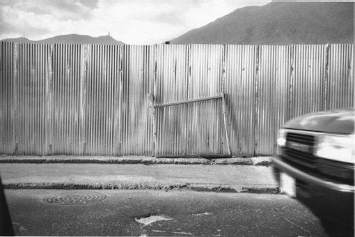 Ricardo Jiménez.Caracas desde el carro, 1993