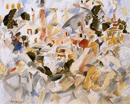 Rafael Barradas. Atocha, 1995. Pintura. Colección Museo Nacional Centro de Arte Reina Sofía