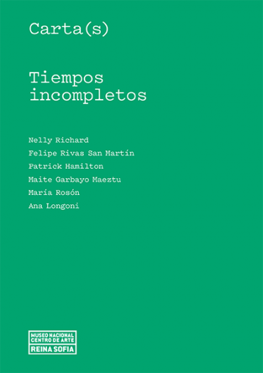 Carta(s). Tiempos incompletos