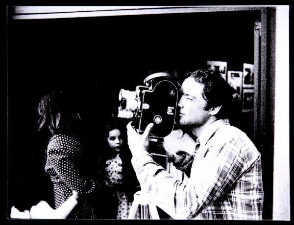 Tino Calabuig rodando (abril, 1974). Archivo Redor-Calabuig. Centro de Documentación