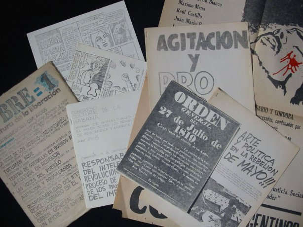 Revista Sobre (1969).  Roberto Jacoby // Archivo en uso