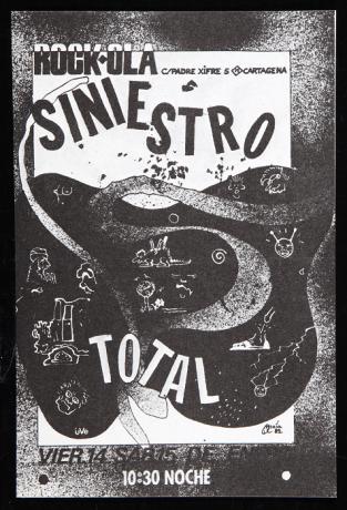 Flyer del Rockola (1982). Archivo Quico Rivas. Centro de Documentación