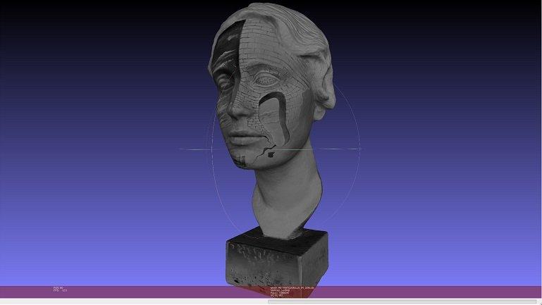 Vista 3D con luz infrarroja