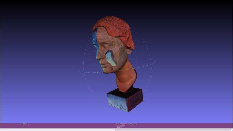 Vista 3D con luz visible